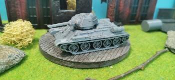 T-34 76 Soviet Tank