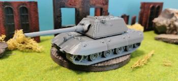 Panzerkampfwagen E-100 with...