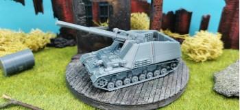 Self-propelled howitzer...